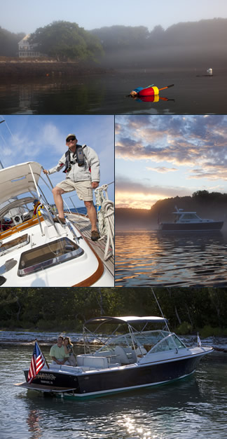 "Visit Latitude at the Newport Brokerage Show and tour our Oyster 66 ""RIVKY"" and Sabre 36 Sedan ""EVENING STAR"""